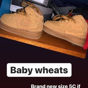 Baby wheat air forces size 5C